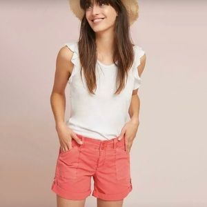 NWT Anthropologie Sanctuary Rolled Utility Shorts